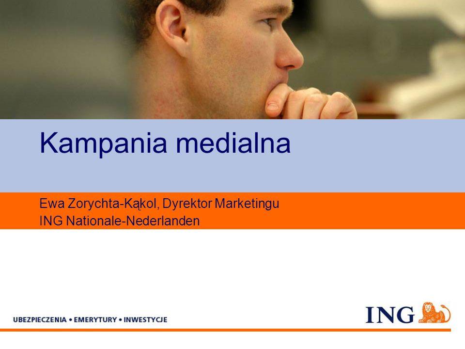 Pole zarezerwowane dla paska brandingowego Kampania medialna Ewa Zorychta-Kąkol, Dyrektor Marketingu ING Nationale-Nederlanden