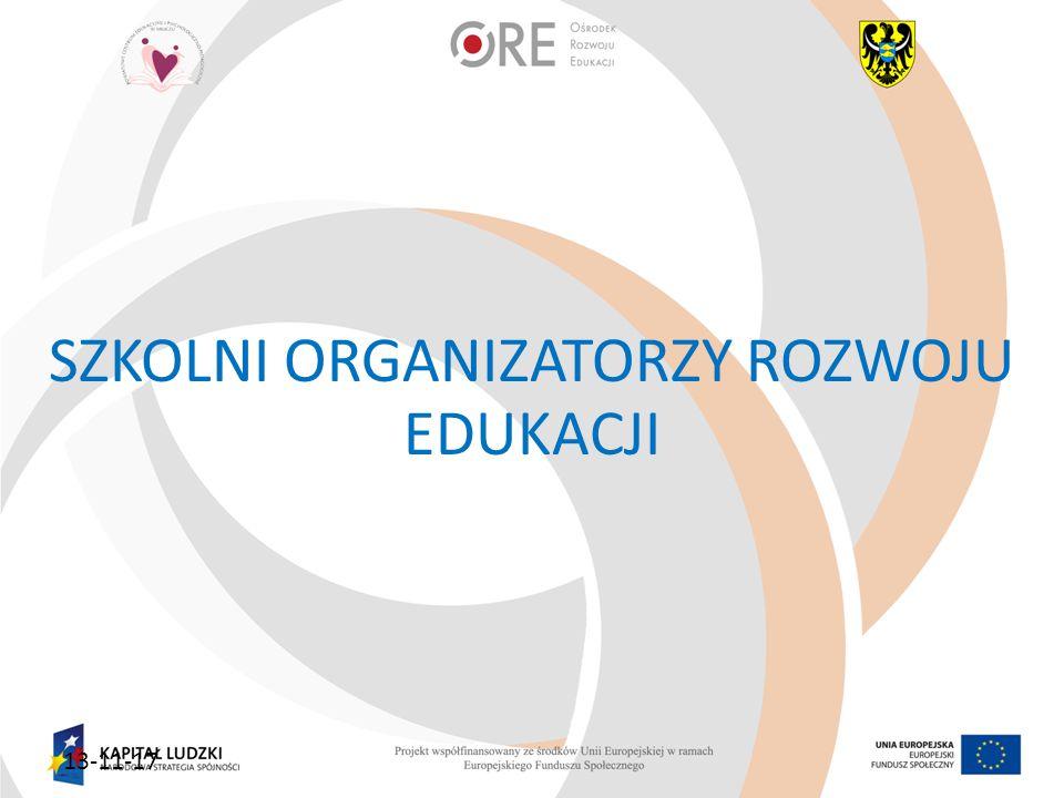 13-11-17 SZKOLNI ORGANIZATORZY ROZWOJU EDUKACJI