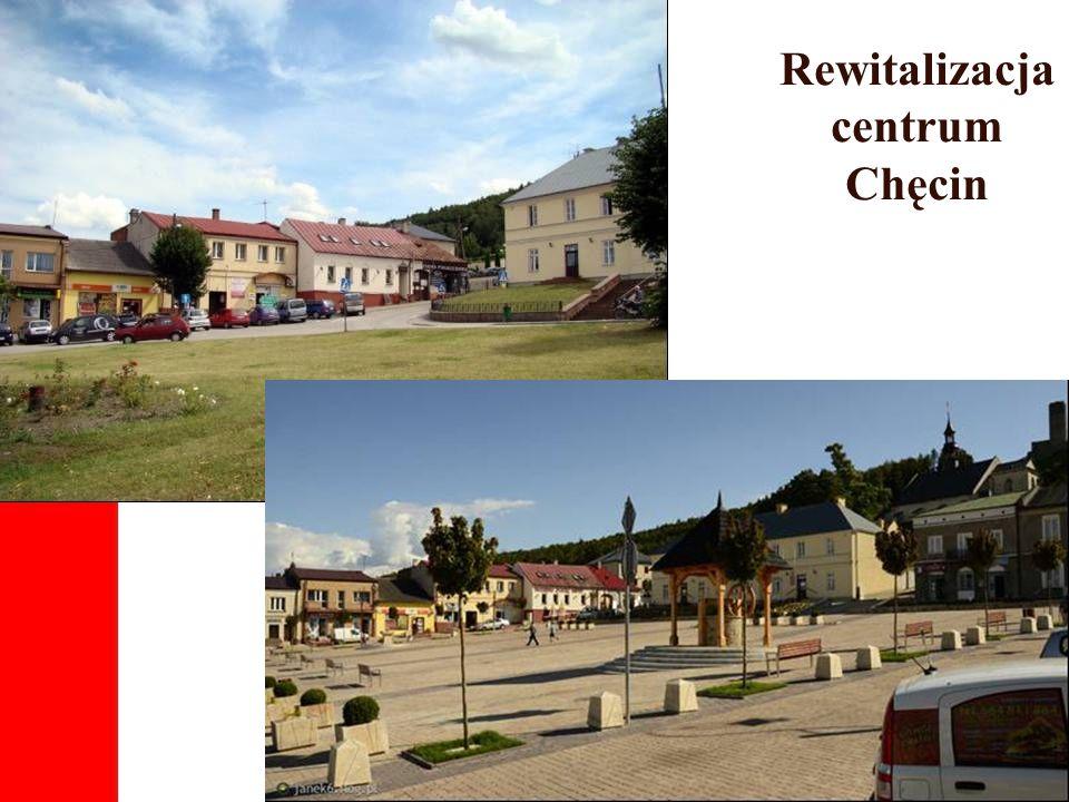 Rewitalizacja centrum Chęcin