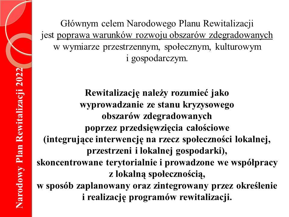 Lokalny Program Rewitalizacji (LPR) Jest wieloletnim programem przyjętym i koordynowanym przez właściwą gminę, obejmującym co najmniej okres planowania 2007-2013.