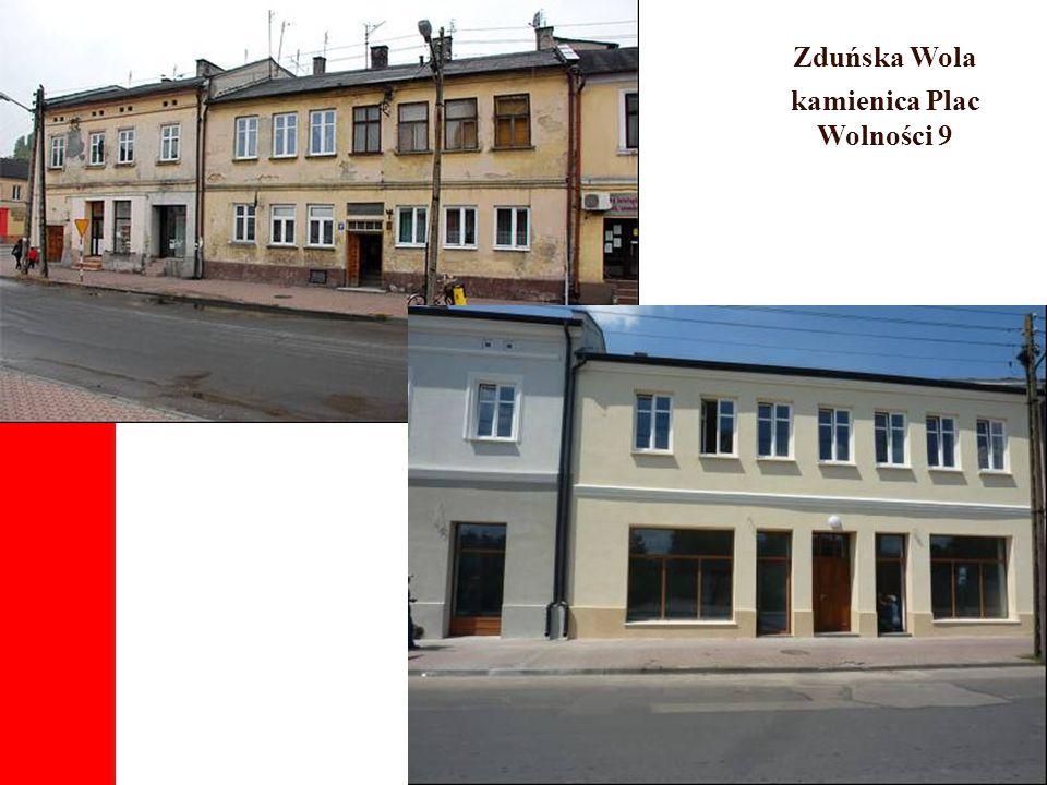 Zduńska Wola kamienica Plac Wolności 9