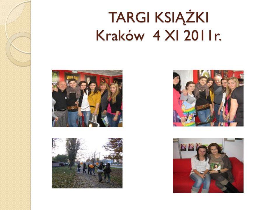 TARGI KSIĄŻKI Kraków 4 XI 2011r.