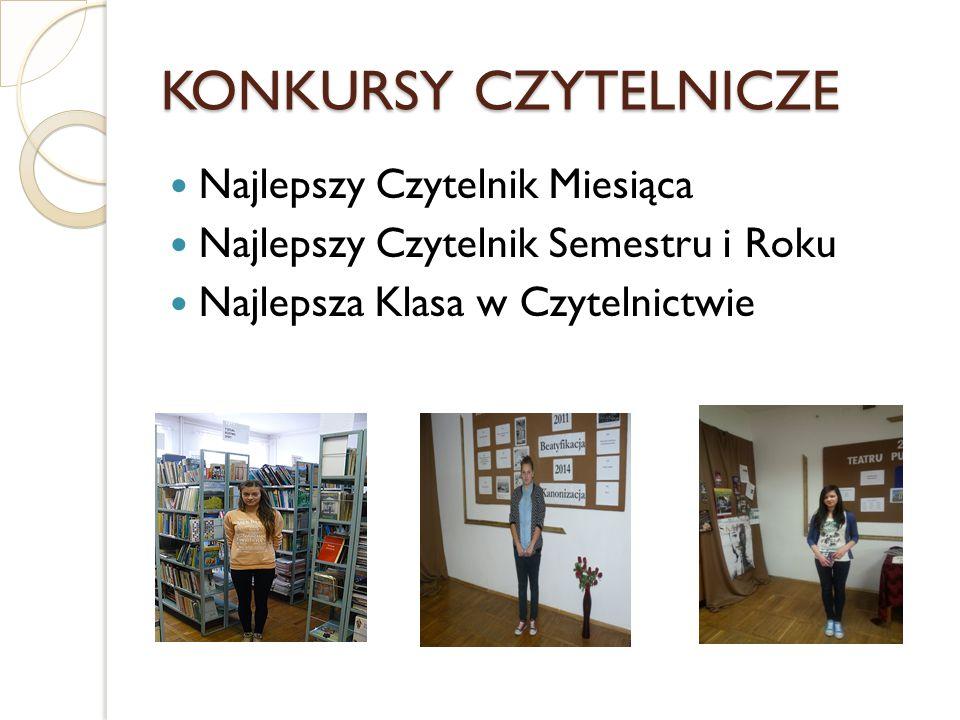 KONKURSY biblioteczne Krzyżówki błyskawiczne