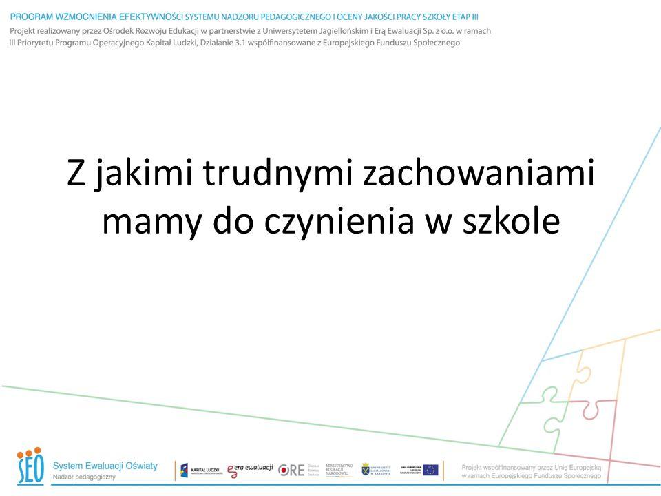Gimnazjum w Wierzchosławicach Udało mi się zaszczepić ideę wśród grona.