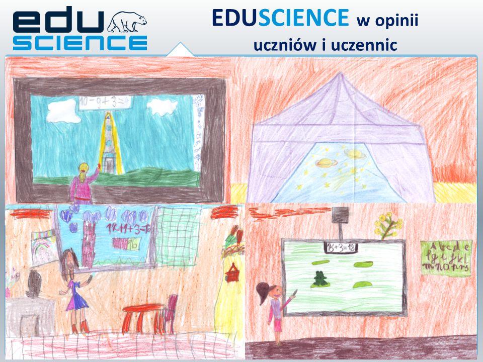 Projekt Eduscience dał mi dużo do zrozumienia, ponieważ dzięki temu projektowi bardziej podoba mi się przyroda, czy też matematyka.