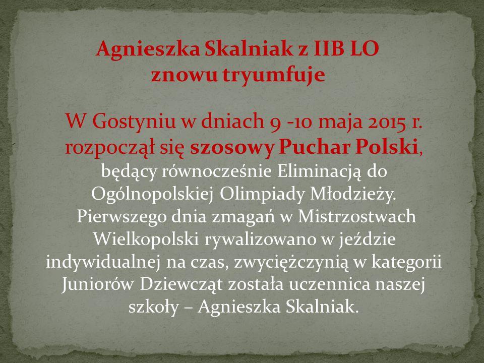 W Gostyniu w dniach 9 -10 maja 2015 r.