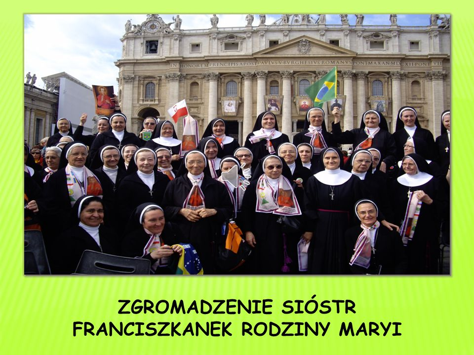 Siostry w swoim życiu zakonnym i działalności apostolskiej kierują się przede wszystkim duchem Ewangelii.
