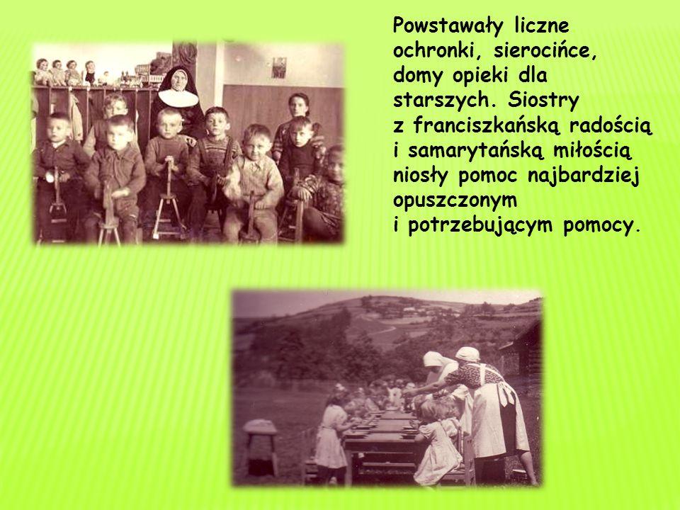 W 1857 roku ks. Feliński założył zgromadzenie zakonne zajmujące się opieką nad dziećmi, chorymi i osobami starszymi. Nazwał je Rodziną Maryi.