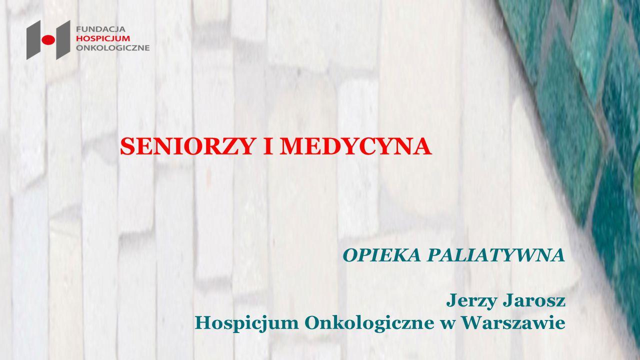PAP/Rynek Zdrowia | 04-04-2013 20:27 Rośnie zapotrzebowanie na opiekę długoterminową, paliatywną, hospicyjną osoby po 65.