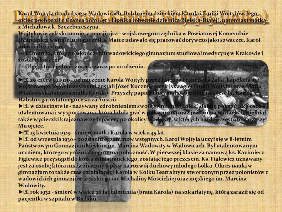 Trasy pielgrzymek Jana Pawła II Historia pielgrzymki Od lat 70 tych pielgrzymki krakowscy chodzili w ramach Pielgrzymki Warszawskiej w ramach grupy 17.