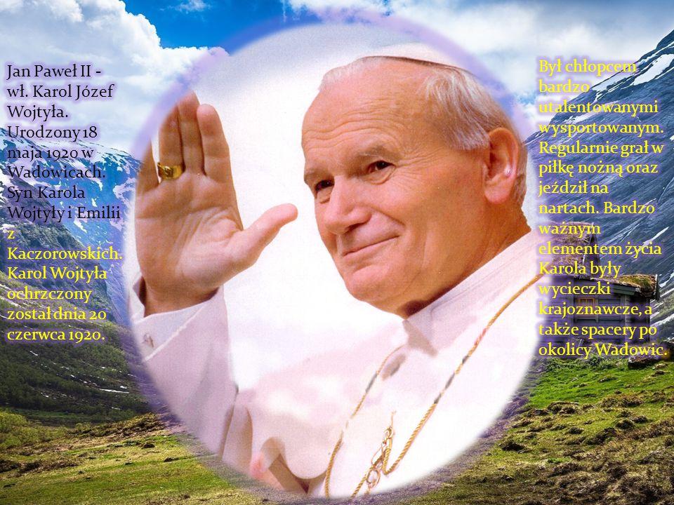 Jan Paweł II zmarł 2 kwietnia 2005 roku
