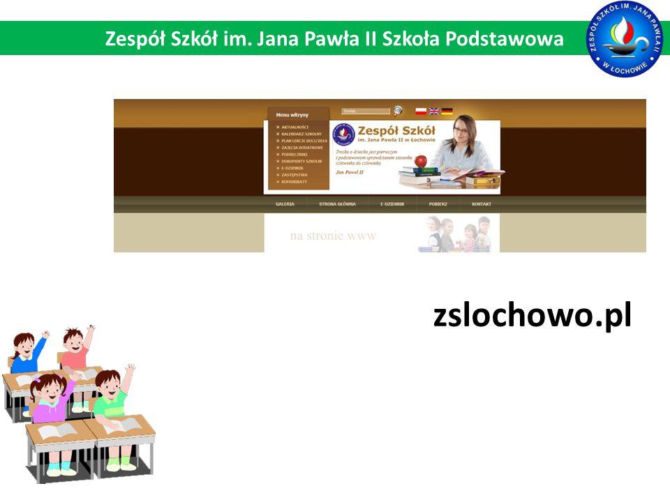 zslochowo.pl Zespół Szkół im. Jana Pawła II Szkoła Podstawowa