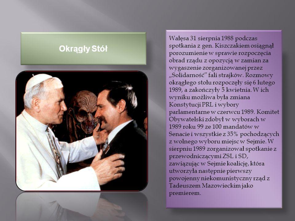 Prezydent Rzeczypospolitej Polskiej Prezydent RP od 22 grudnia 1990 do 22 grudnia 1995.