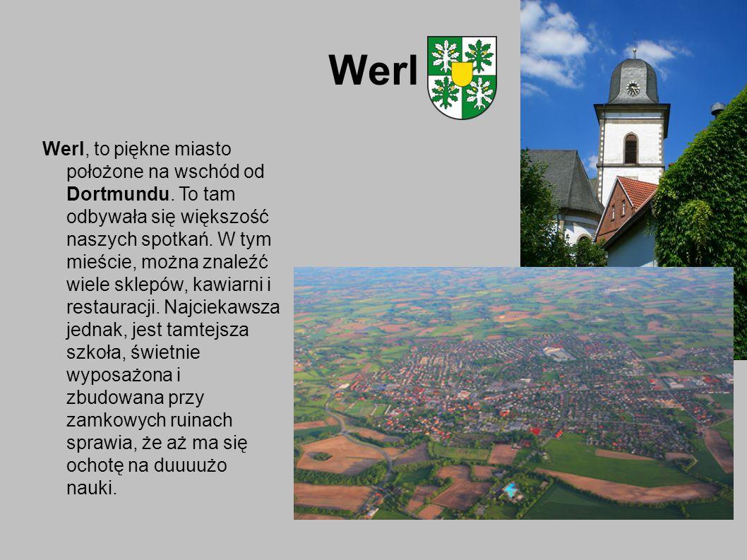 Werl Werl, to piękne miasto położone na wschód od Dortmundu.