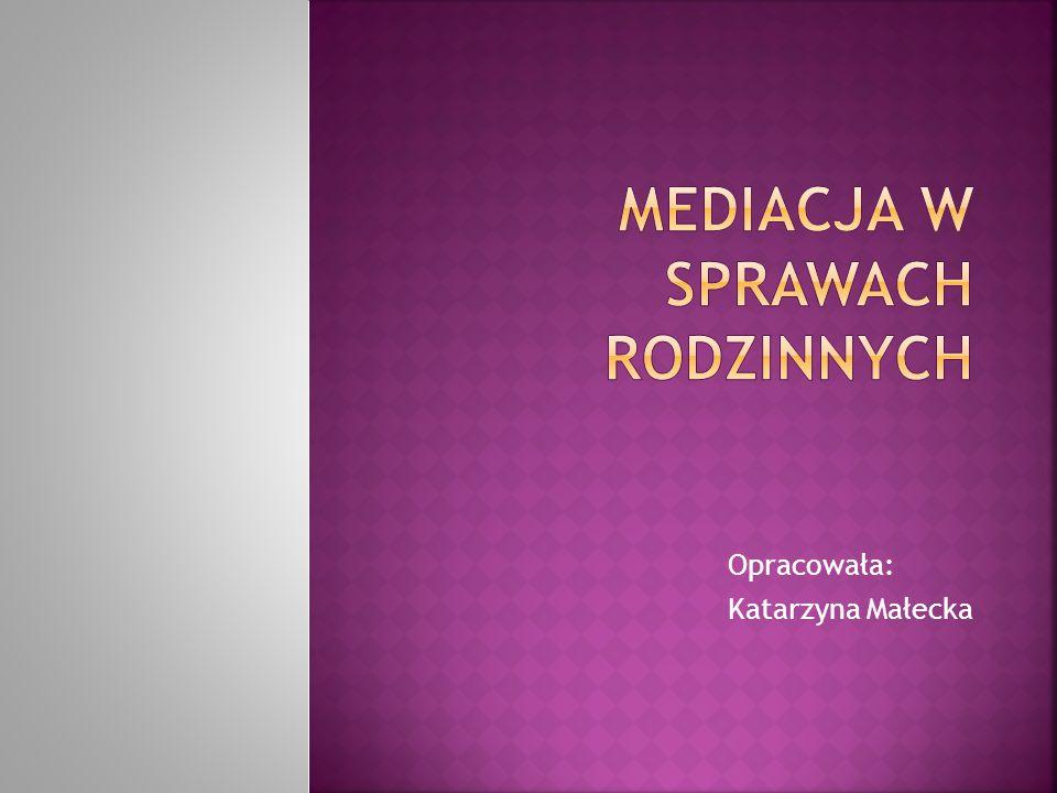 Opracowała: Katarzyna Małecka