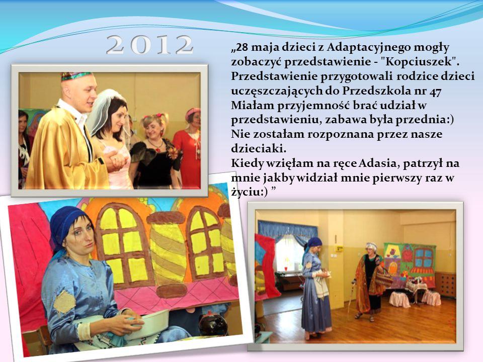 """""""28 maja dzieci z Adaptacyjnego mogły zobaczyć przedstawienie -"""