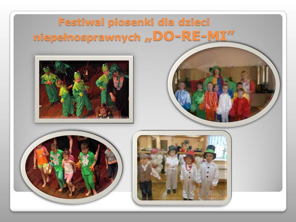 """Festiwal piosenki dla dzieci niepełnosprawnych """"DO-RE-MI"""""""