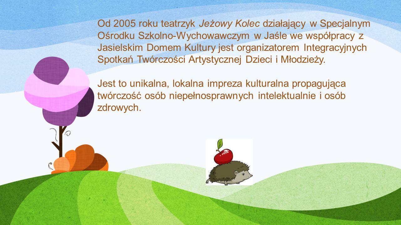 Od 2005 roku teatrzyk Jeżowy Kolec działający w Specjalnym Ośrodku Szkolno-Wychowawczym w Jaśle we współpracy z Jasielskim Domem Kultury jest organizatorem Integracyjnych Spotkań Twórczości Artystycznej Dzieci i Młodzieży.