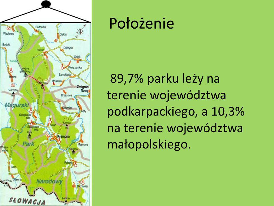 Piętra klimatyczne Na obszarze MPN występują dwa piętra klimatyczne: piętro umiarkowanie polskie, piętro umiarkowanie chłodne.