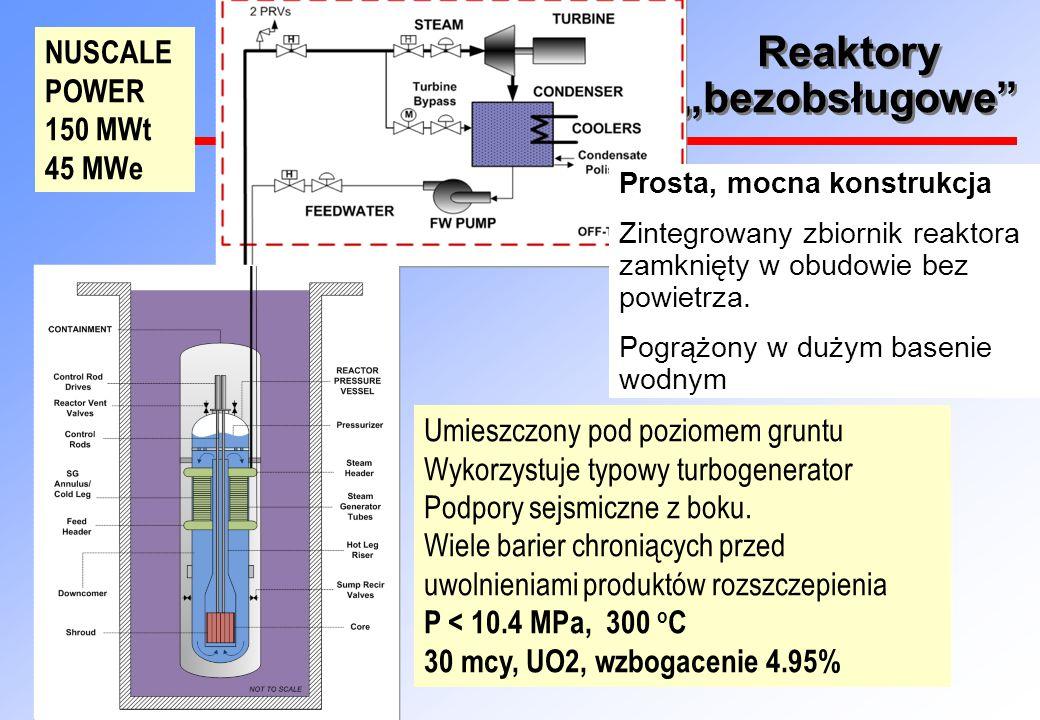 """Reaktory """"bezobsługowe Prosta, mocna konstrukcja Zintegrowany zbiornik reaktora zamknięty w obudowie bez powietrza."""