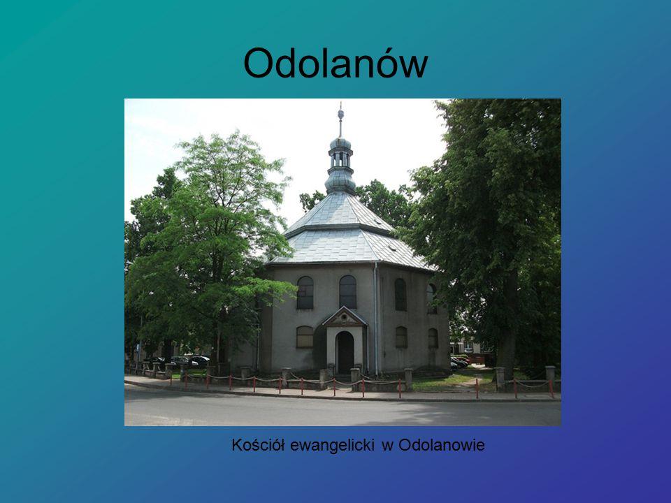 Odolanów Kościół ewangelicki w Odolanowie