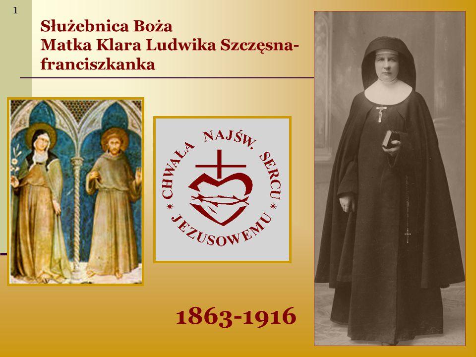 Życzenia współzałożycielka zgromadzenia, s.Ludwika Szczęsna przyjęła imię – Klara ks.