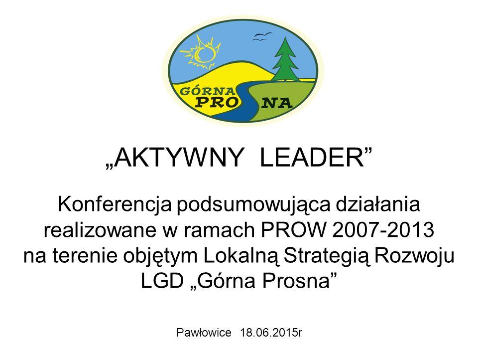 """Łącznie do LGD """"Górna Prosna w XI naborach wpłynęły 322 wnioski Gmina Byczyna - 50 Gmina Gorzów Śl."""