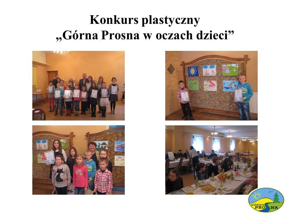 """Konkurs plastyczny """"Górna Prosna w oczach dzieci"""