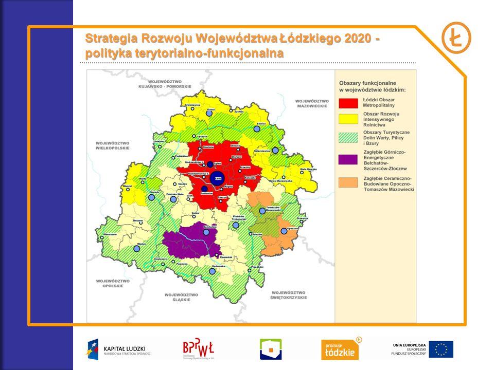 Strategia Rozwoju Województwa Łódzkiego 2020 - polityka terytorialno-funkcjonalna