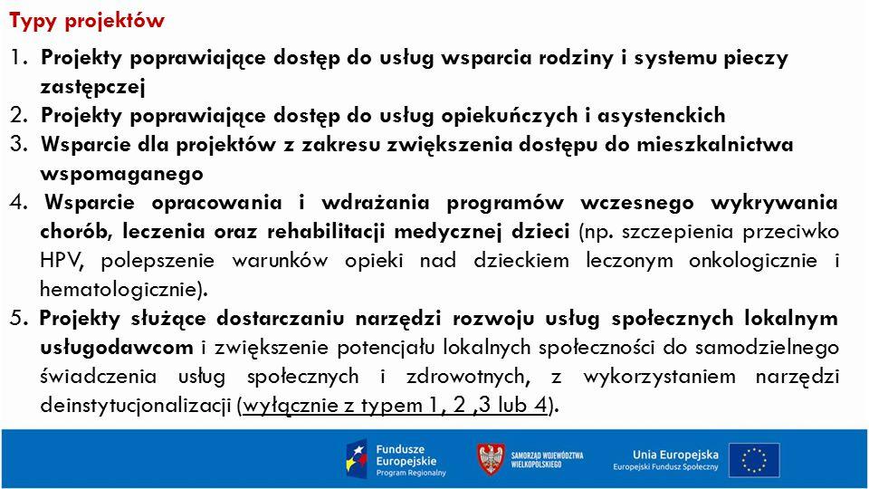 Typy projektów 1.