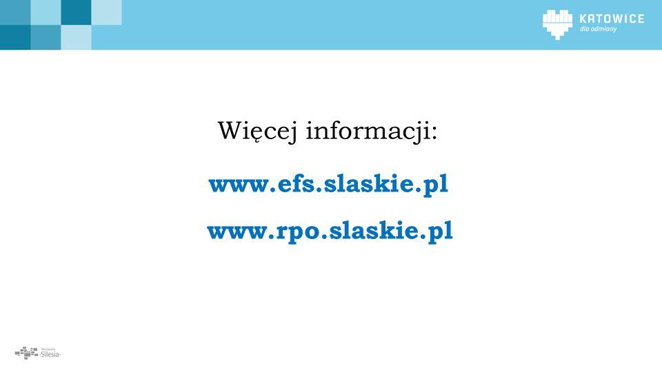 W ramach Osi Priorytetowej II Cyfrowe Śląskie realizowane będzie działanie przyczyniające się do zwiększenia dostępności e-usług publicznych oraz wzrostu liczby osób korzystających z us 2 www.rpo.slaskie.pl Więcej informacji: www.efs.slaskie.pl
