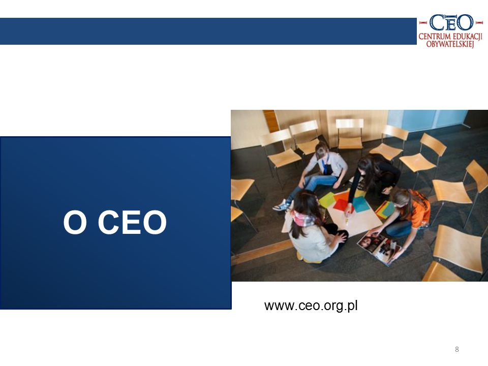 9 Działa od 1994 roku jako: niezależna instytucja edukacyjna, organizacja pożytku publicznego.