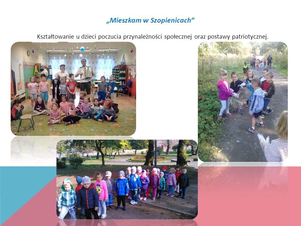 """""""Mieszkam w Szopienicach Kształtowanie u dzieci poczucia przynależności społecznej oraz postawy patriotycznej."""