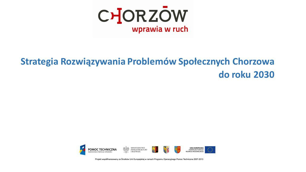 Strategia Rozwiązywania Problemów Społecznych Chorzowa do roku 2030