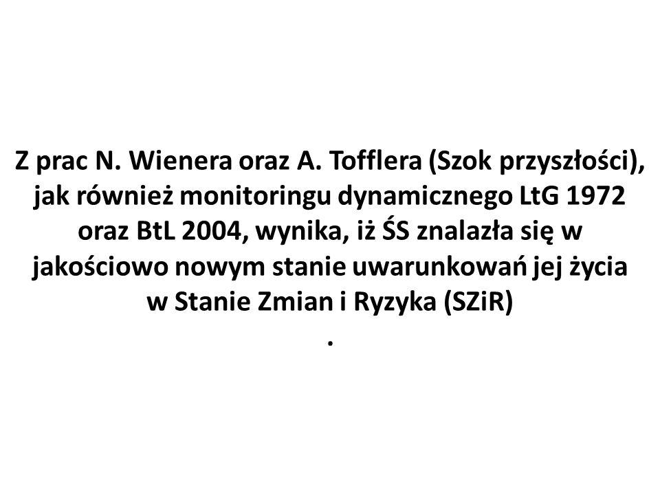 Z prac N. Wienera oraz A.