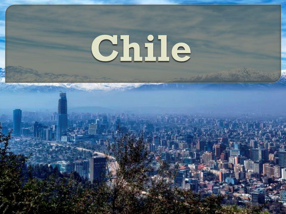 Pa ń stwo Chile jest po ł o ż one w Ameryce Po ł udniowej.