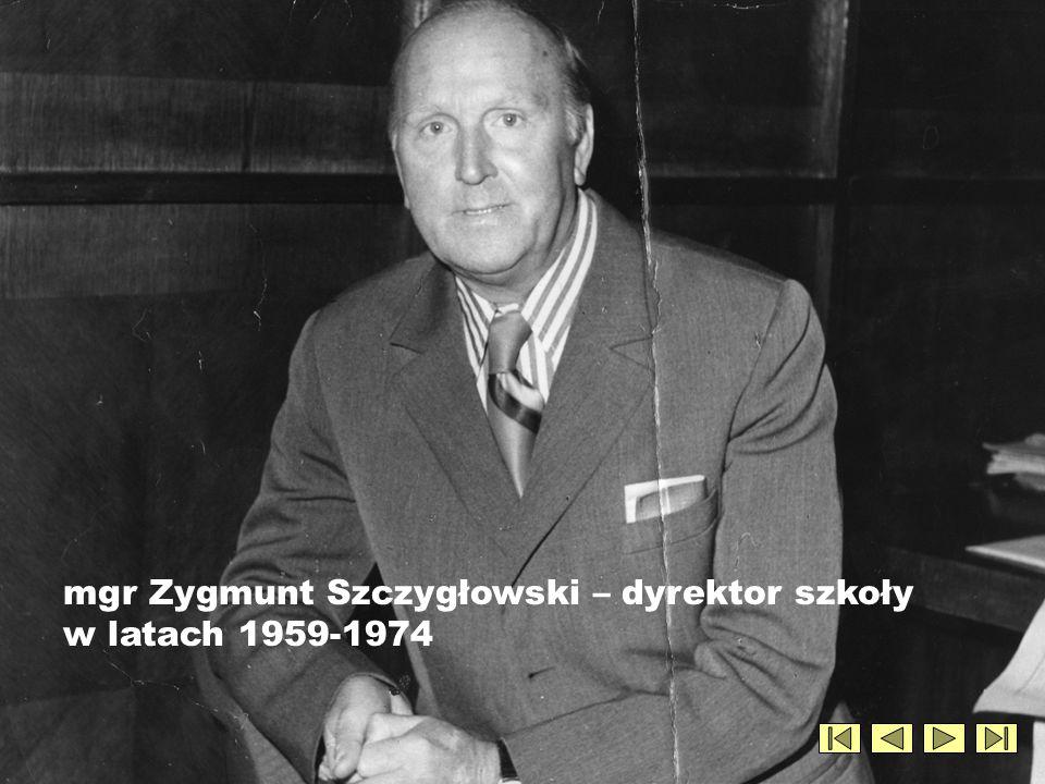 Wicedyrektor Józef Wilk