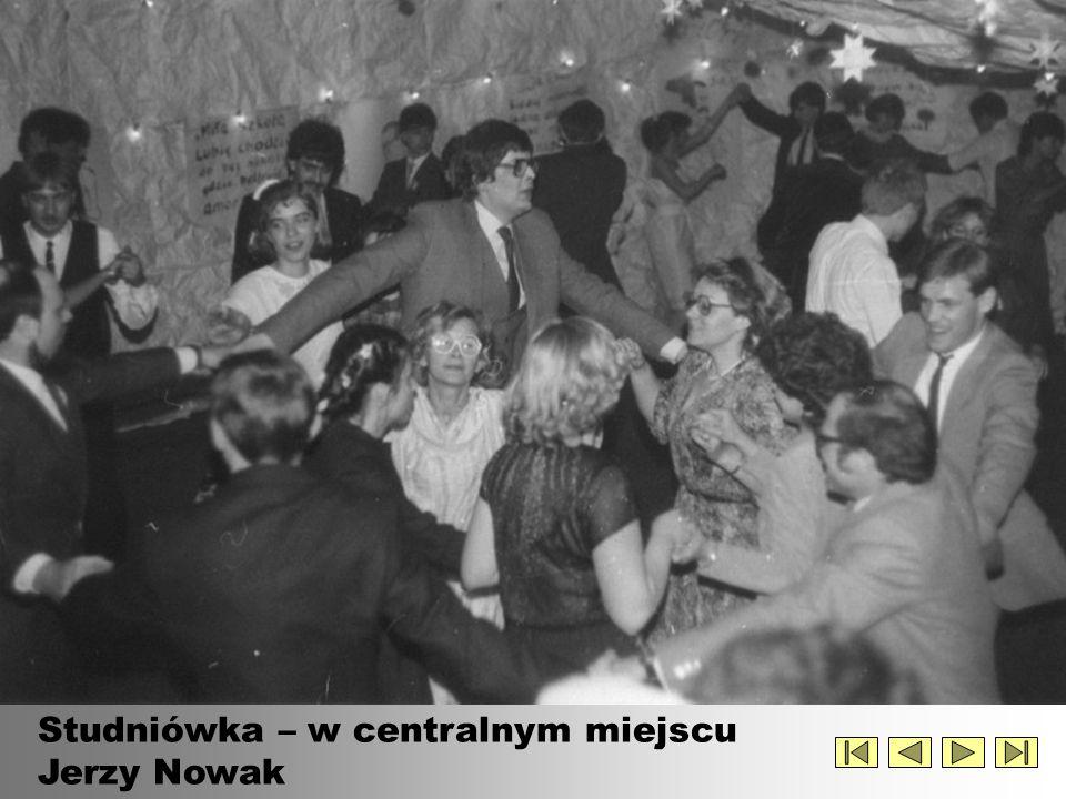 Bal studniówkowy – lata 70-te