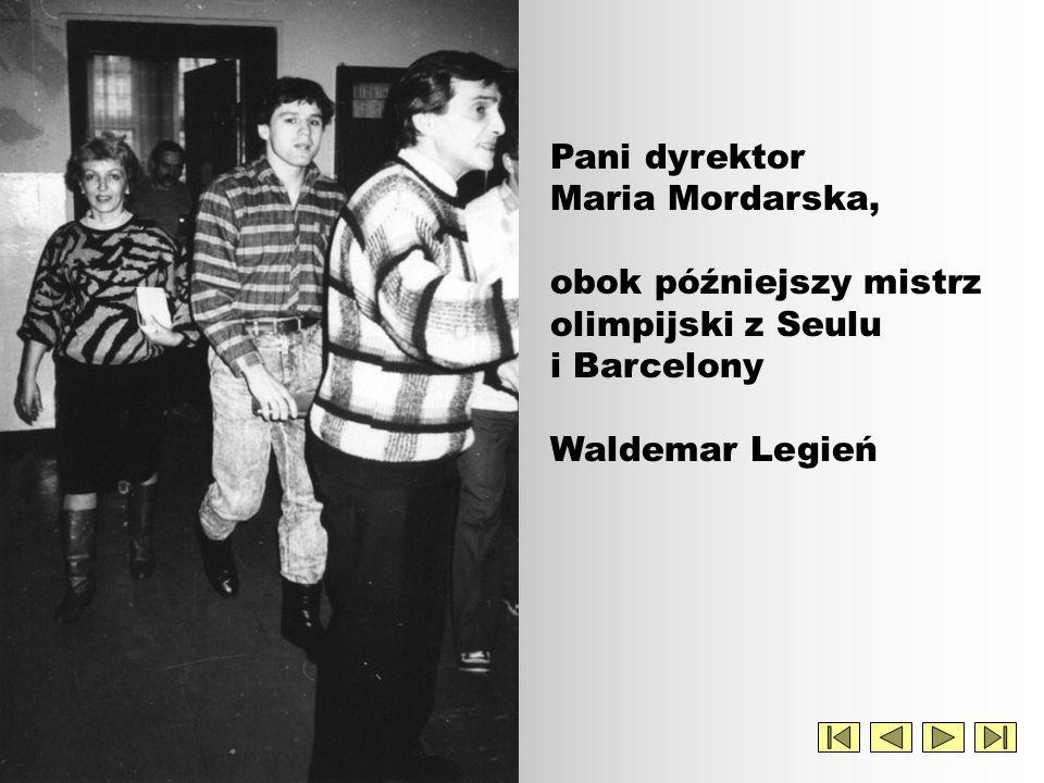 A nie tak dawno jeszcze był uczniem ! Nasz mistrz olimpijski Waldemar Legień