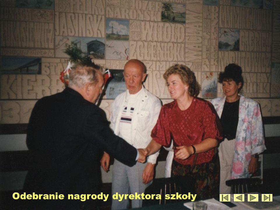 Uroczyste pożegnanie przechodzącego na emeryturę dyrektora Kazimierza Laburdy