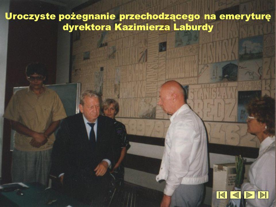 Uroczyste pożegnanie przechodzącego na emeryturę dyrektora Kazimierza Laburdy (c.d.)