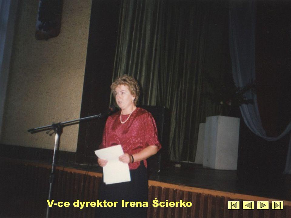 Dyrektor Maria Mordarska i Antoni Kraus na stanowisku pracy