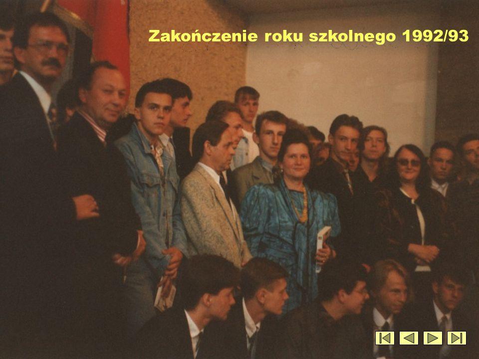 Zakończenie roku szkolnego 1992/93