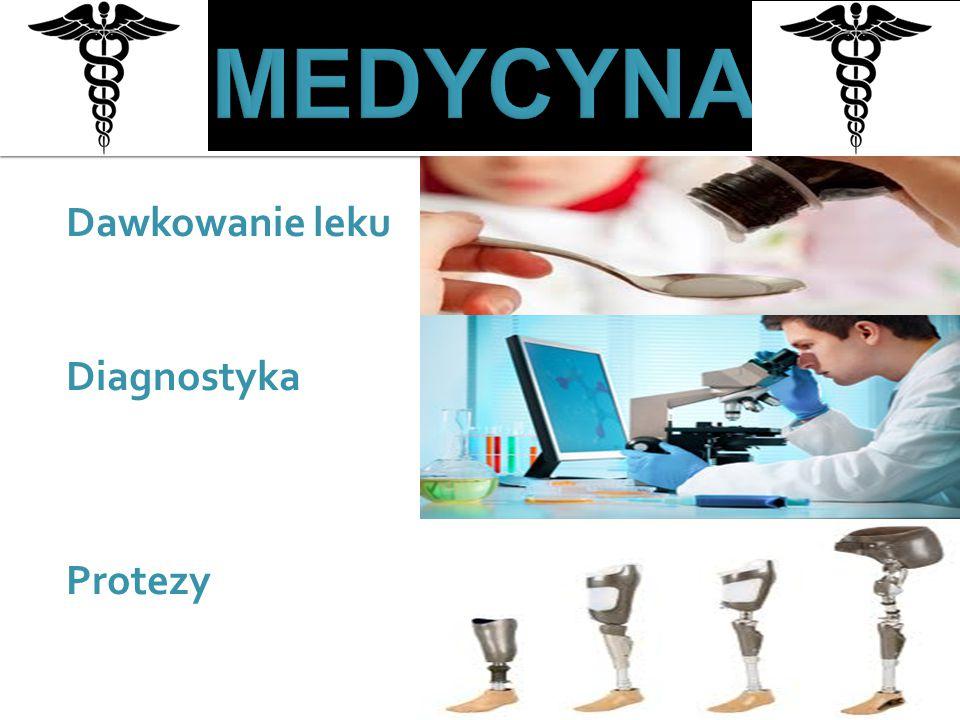 Dawkowanie leku Diagnostyka Protezy
