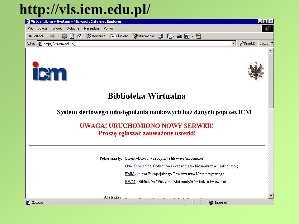 http://vls.icm.edu.pl/