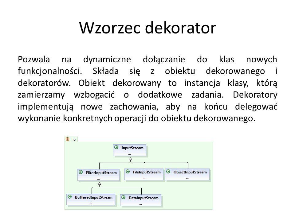 MVC – Model-Widok-Kontroler Model – Reprezentacja logiki biznesowej.