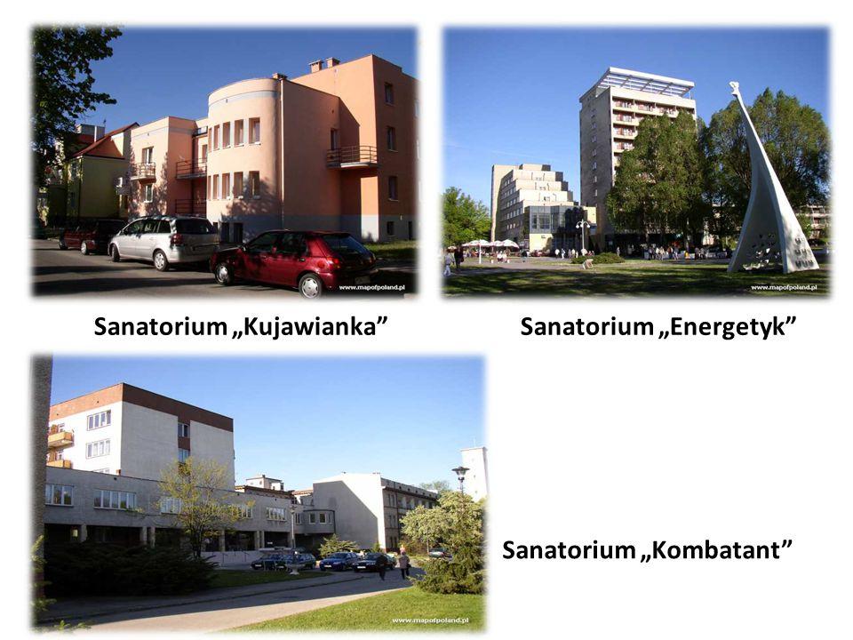 """Sanatorium """"Kujawianka Sanatorium """"Energetyk Sanatorium """"Kombatant"""