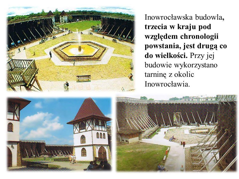 Inowrocławska budowla, trzecia w kraju pod względem chronologii powstania, jest drugą co do wielkości.