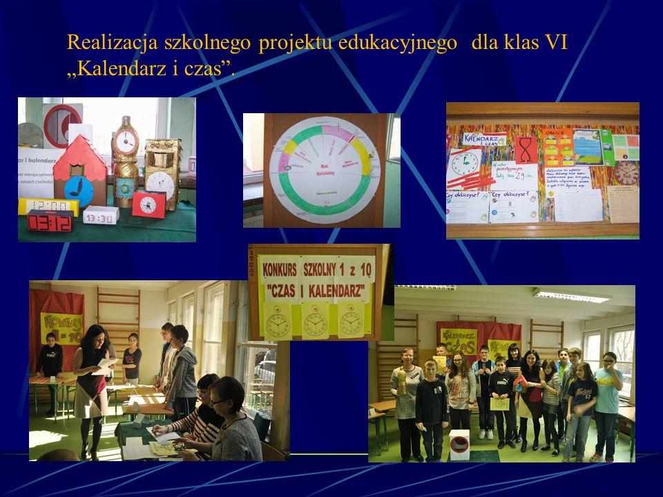 Organizacja imprez i uroczystości Przeprowadzono warsztaty przyrodnicze, informatyczne dla klas IV- VI w ramach zajęć interaktywnych z okazji Dnia Patronki.