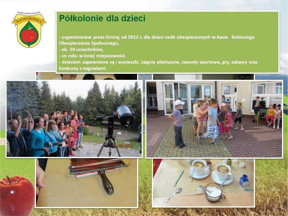 Polonia z Kirgistanu w Raciechowicach - od 2006 r. dzieci polskiego pochodzenia z Kirgistanu uczestniczą w koloniach organizowanych na terenie Gminy R